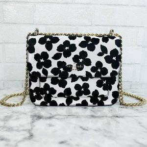 Kate Spade Floral Graphic Chain Crossbody